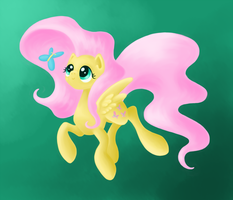 Fluttershy by Faikie