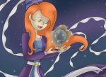 Princess Lizzy with Crystal Orb of Power by Jaimeelee123