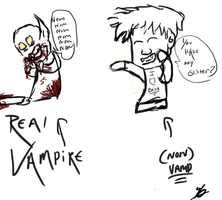Real Vampire and Non vamps by ArchXAngel20