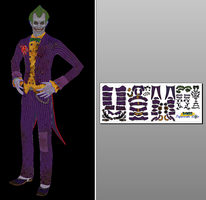 The Joker Papercraft by Sabi996