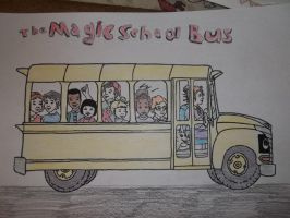 The Magic School Bus by fatthoron