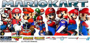 Mario Kart into History by Kulit7215