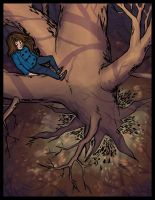 Up a tree, again by MargoMeiko
