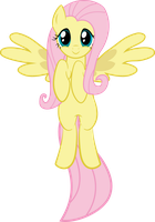 Fluttershy - In The Air by WildSoulWS