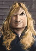 Dave Mustaine by Parpa