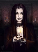Morticia by j-am