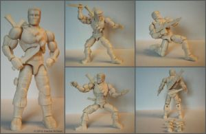 3D printed 'action figure' by hauke3000
