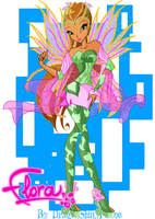 Winx: Flora Bloomix by DragonShinyFlame