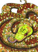 :Contest: Portrait of a Snake by Clytemnon