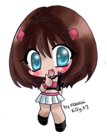 Gift.:Chibi Anzu:. by Desiree-U