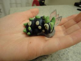 Baby Dragon Figurine by LittleBachman