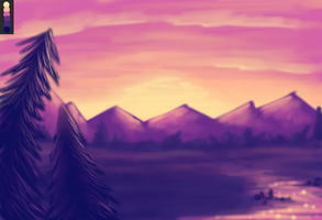PC1 - Sunset Valley by JessiRenee