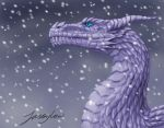 Ice dragon by Jassylaw