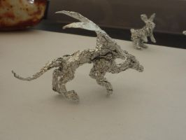 Tin Foil Dragon by Pandadrake