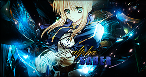 Saber Sig. by LifeAlpha