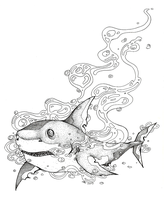 Shark by Nashimus