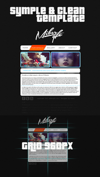 Simple and clean template by CsKreedz