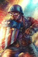 Captain America - WWII by AIM-art