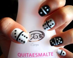 Domino Nails by dgippi4