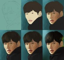 Ji ChangWook-progress by TanyaGreece