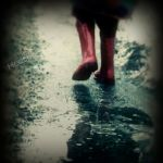 Red Boots by HeatherWaller-Rivet