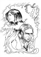 Fables Bigby and Snow by louisesaunders