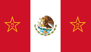 Flag of Chinese Mexico by GeneralHelghast