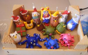 My Clay Family Until Now by JulietTaylor