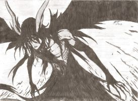 Ulquiorra 2nd Form by pookie329lee