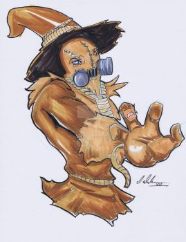Walker (Color) - Scarecrow by powerbomb1411
