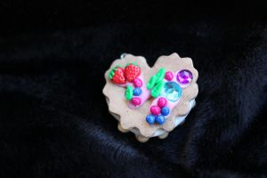 Realistic Kawaii Deco Cookie Charm by Gynecology