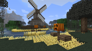Minecraft Windmill by TheReadyBoys