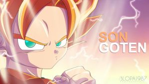 Son Goten by Blopa1987
