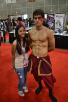 Anime Expo 2012 - Day 3: Me with Zuko by hikaridemon