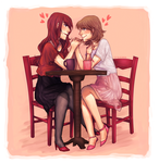 Cafe Date by creylune