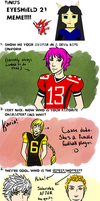 Eyeshield 21 Meme by marshmellowbrains