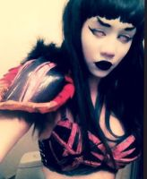 COSPLAY WIP : The Condecse -dressed to kill- by TheGraveyardteaparty