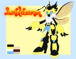 DIGIMON Bumblebeemon Ref by ANBUGreninja