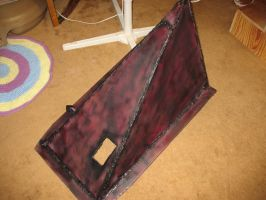 SH2 Pyramid Head helmet (aged) by Rising-Darkness-Cos