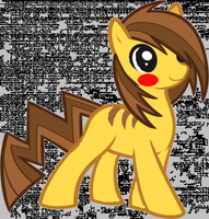 Pikachu As A Pony!! :) by wolfiegocheep