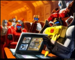 Grimlock and the Technobots by Astro-L