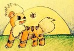Gift - Growlithe by KJB-Believer-2014