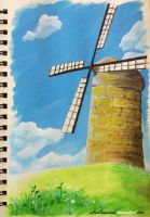 Windmill by AoiCancerius