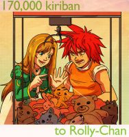 170,000 kiriban to Rolly-Chan by FerioWind