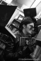 In Aziraphale's Bookshop 2 by leaux