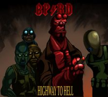 BPRD Highway to Hell by SeanMcFarland