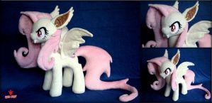Flutterbat -  My Little Pony -  Plush by REDPAW by Lavim