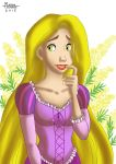 Rapunzel with Mimosa by RUNNINGWOLF-MIRARI