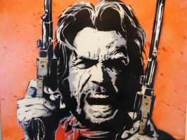 Clint Eastwood - Outlaw Josey Wales - Original Spr by TheStreetCanvas