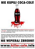 killer cola POSTER 2 by 13VAK